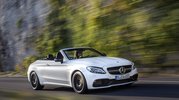 First Drive: 2017 Mercedes-Benz C63 AMG S Cabriolet