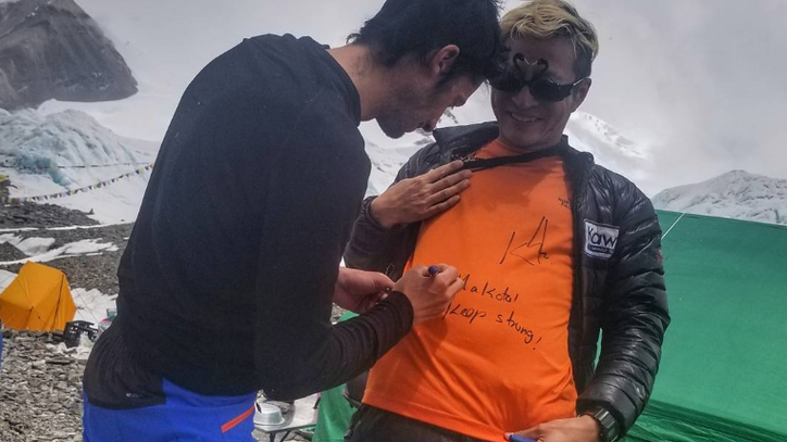 Is Kilian Jornet Really Going to Go for a Second Everest Record This Season?