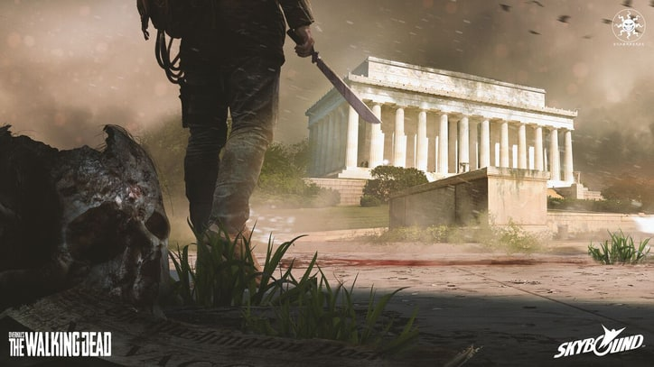New 'Walking Dead' Game Trailer Shows Post-Apocalyptic Washington D.C.