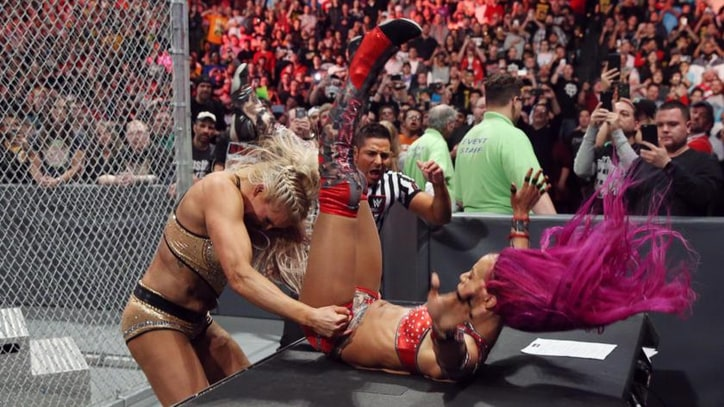 WWE 'Hell In a Cell': Charlotte, Sasha Banks Make History