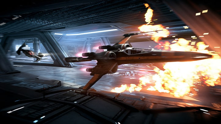 Here's 10 Minutes of 'Star Wars Battlefront II' Space Combat