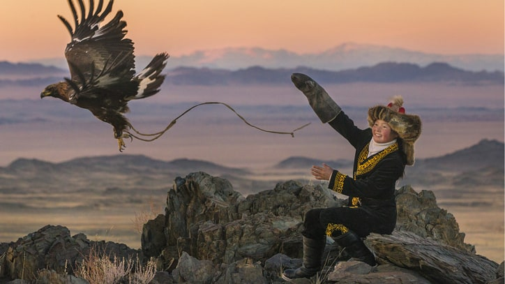 The True Story of a Tribe that Still Hunts with Eagles to Survive