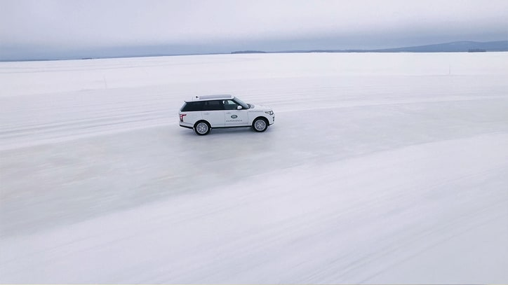 A Weekend in Arjeplog: First Look at the New Land Rover Ice Driving Academy