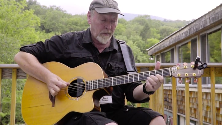 Watch Richard Thompson Talk Joys of Teaching, Play Recent Songs