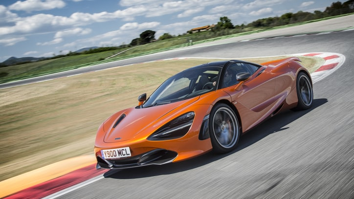 First Drive in the Impossibly Fast and Sleek McLaren 720S