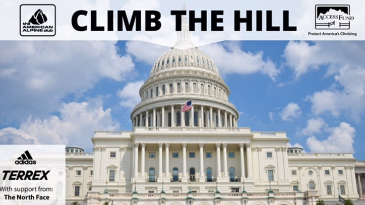 Alex Honnold, Tommy Caldwell, and Other Climbers Take to Capitol Hill to Fight for Public Lands