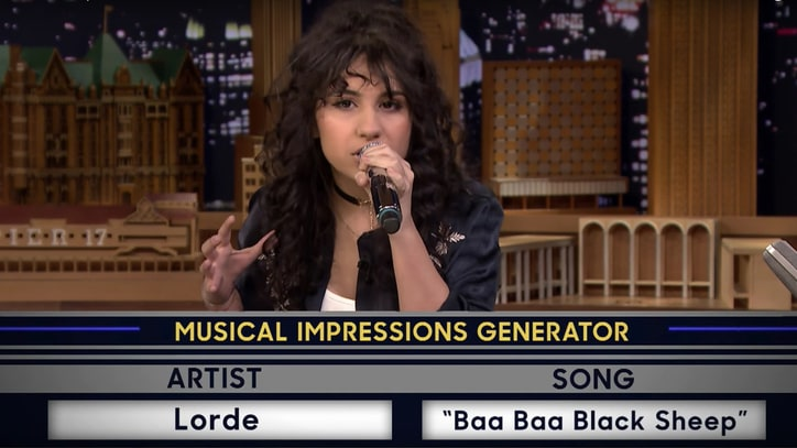 See Alessia Cara Impersonate Nicki Minaj, Lorde on 'Fallon'