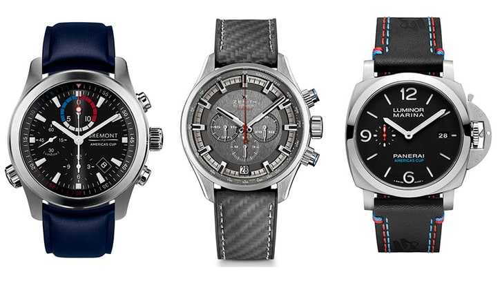 Sea Time: The 9 Best America's Cup Watches