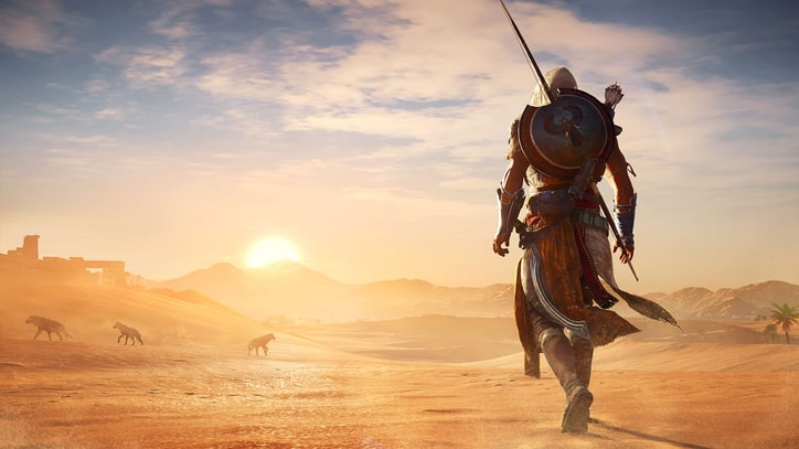 The Wondrous Deserts of 'Assassin's Creed Origins'