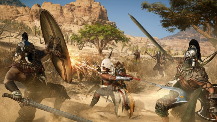 'Assassin's Creed Origins' Borrows from 'Dark Souls' and 'Zelda'