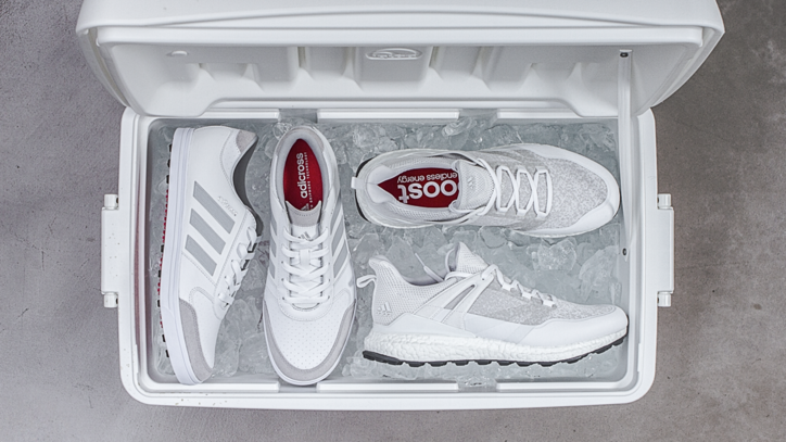 Tee Up In Style With The New All-White Adidas Golf Shoes