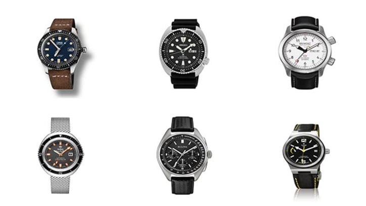 6 New, Stylish Adventure Watches