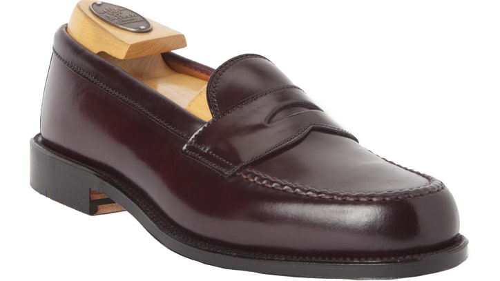 An Endorsement: The Classic Burgundy Penny Loafer