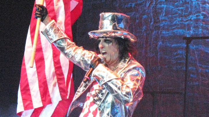 Alice Cooper on 'Zombie' Hillary and Trump, 'Demented' Election, Golf