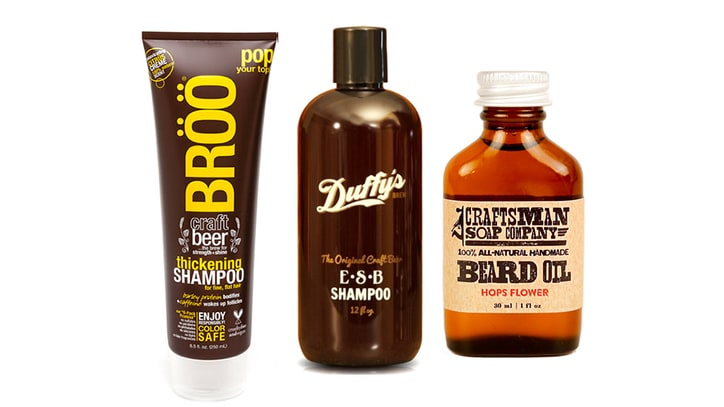 The Best Beer-Based Grooming Products