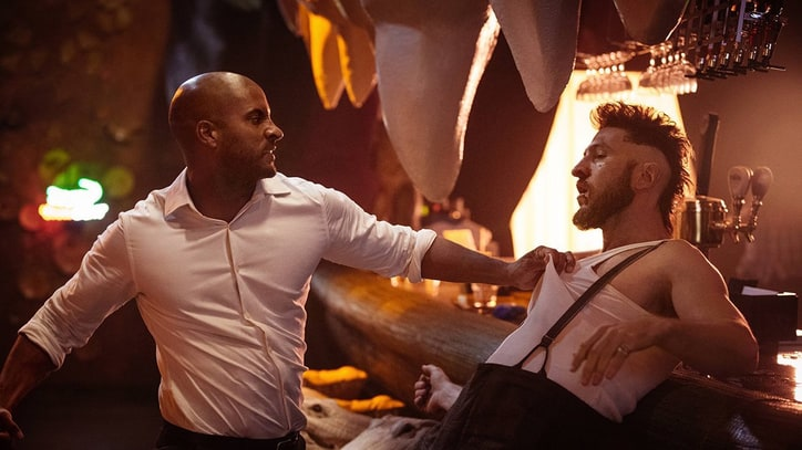 How Ricky Whittle Got the Body of an American God