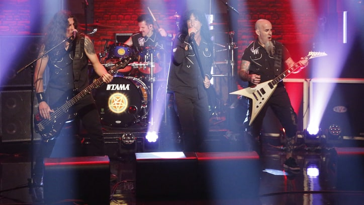 Watch Anthrax Torch 'Late Night' With Raging 'Monster at the End'