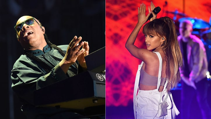 Hear Stevie Wonder, Ariana Grande's Upbeat Duet on New Song 'Faith'