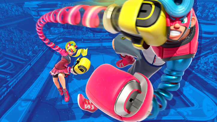 'Because Nintendo': 'Arms' Producer Explains Why Fighters Have Stretchy Arms