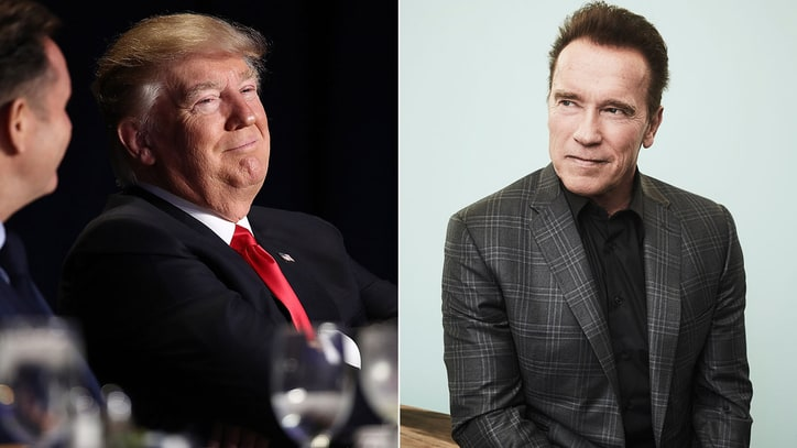 Arnold Schwarzenegger Opens Up About Trump Feud