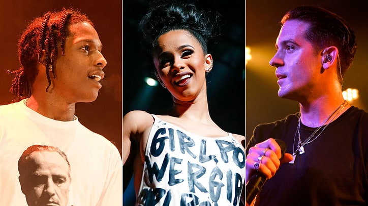 Hear G-Eazy, A$AP Rocky, Cardi B on Scathing New Song 'No Limit'