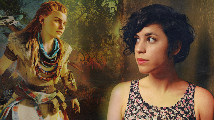 'Horizon Zero Dawn' Star Ashly Burch on Her Voice Acting Heroes and Playing Aloy