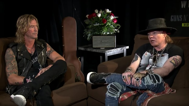 See Axl Rose, Duff McKagan Talk Guns N' Roses Reunion in Rare Interview