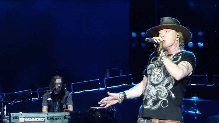 See Guns N' Roses Play 'Sorry' With Slash, Duff McKagan for First Time