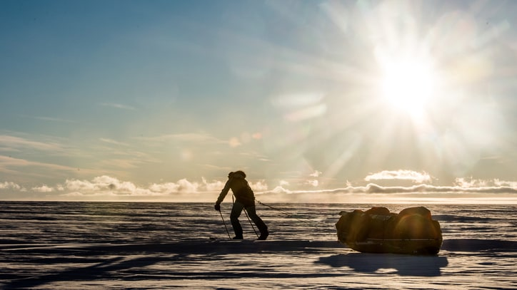 Mike Horn On Crossing Antarctica, the First Leg In His Round-the-World Record Attempt