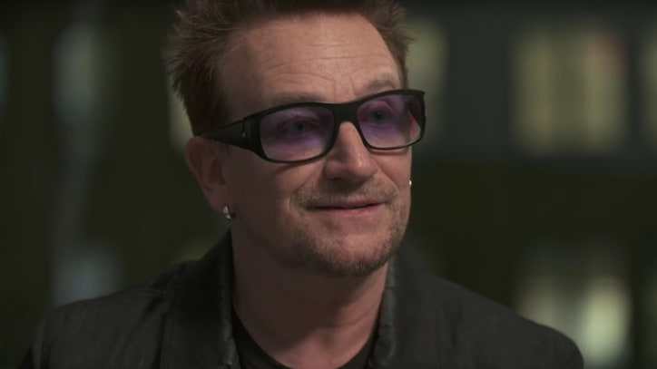 Watch Bono's Passionate Reading of Allen Ginsberg's 'Hum Bom!' Poem