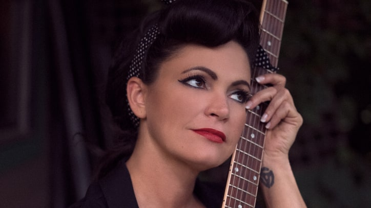 Hear Angaleena Presley's Wanda Jackson Collaboration 'Good Girl Down'