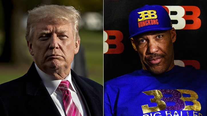 God Save Us From the Trump-LaVar Ball Battle