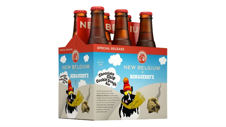The Latest Ben & Jerry's Beer From New Belgium Is No Gimmick