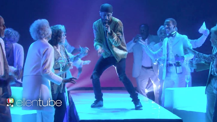 Watch Big Sean Party With Elderly Performing 'Moves' on 'Ellen'