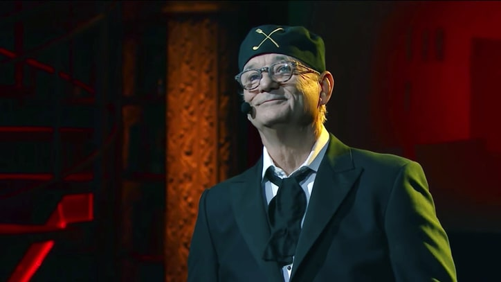 Watch Bill Murray Lead 'West Side Story' Medley on 'Colbert'