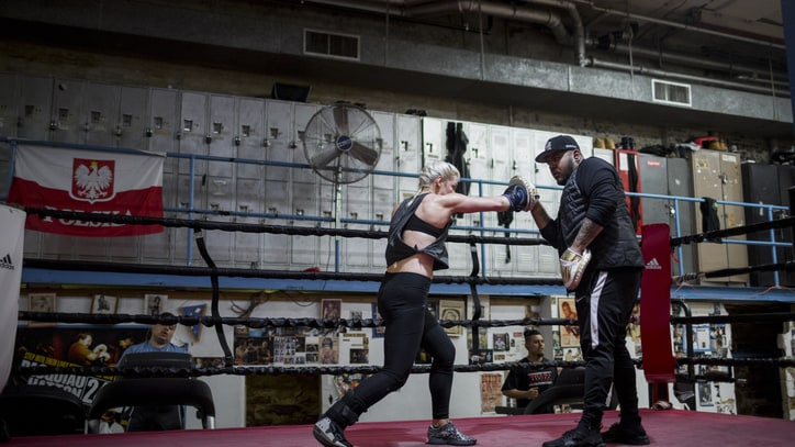 Becoming a Boxer: Learning to Fight Without Your Feet