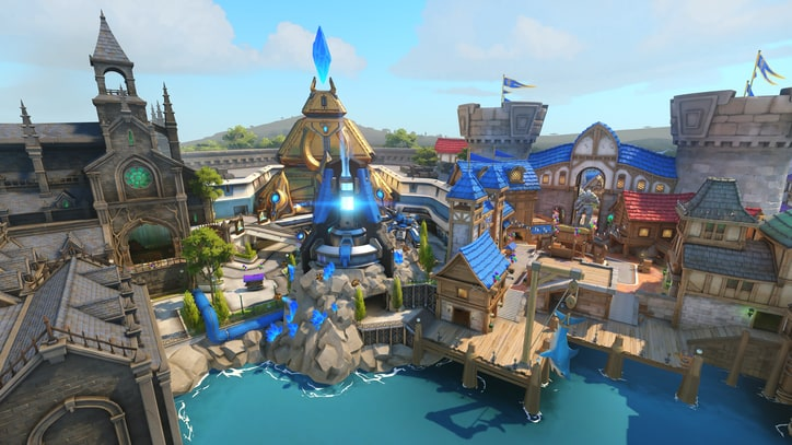 Daily Glixel: Blizzard World Map Hits 'Overwatch' Public Test Realm