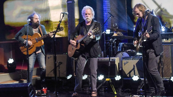 See Bob Weir's Tender 'Lay My Lily Down' Performance on 'Colbert'
