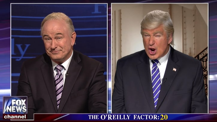 See Alec Baldwin Play Bill O'Reilly, Donald Trump in Same 'SNL' Sketch
