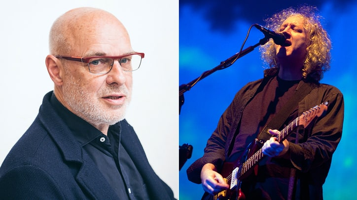 Hear Brian Eno, My Bloody Valentine's Kevin Shields' Nine-Minute Drone Odyssey