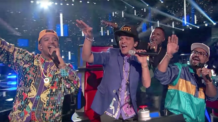 Watch Bruno Mars' Lively '24K Magic' Performance on 'The Voice'