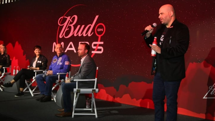 Budweiser Announces Plans to Brew Beer on Mars