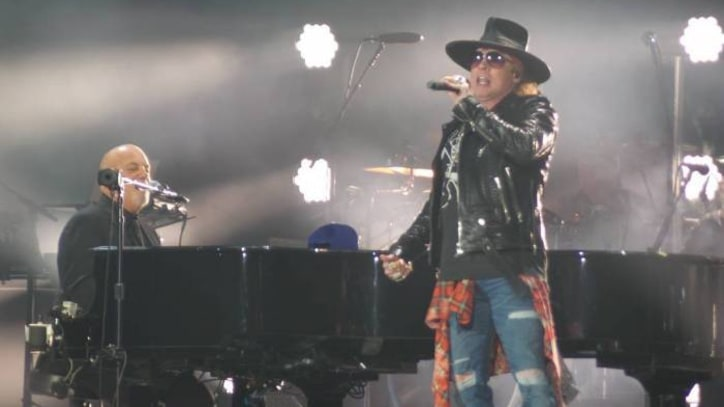 Watch Axl Rose Perform With Billy Joel in Los Angeles