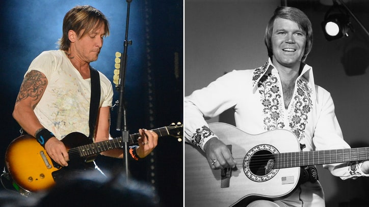 Keith Urban: Glen Campbell 'Blazed Real Trails'