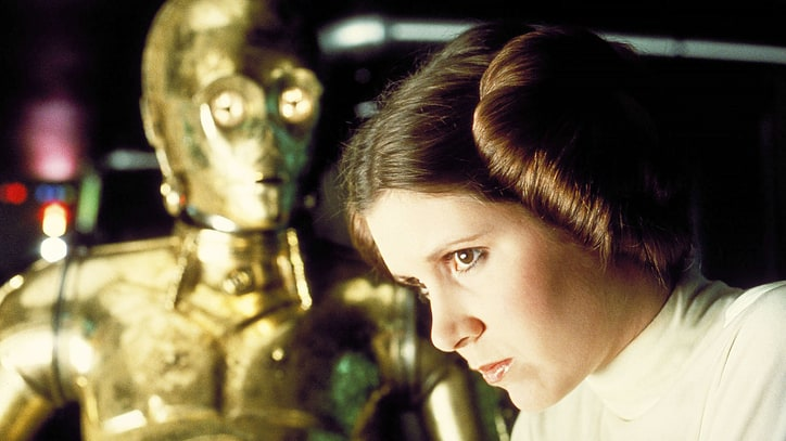 Carrie Fisher's 10 Greatest 'Star Wars' Moments