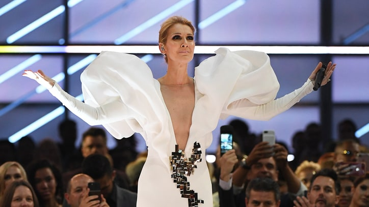 Watch Celine Dion Belt Out 'My Heart Will Go On' for 20th Anniversary at BBMAs 2017