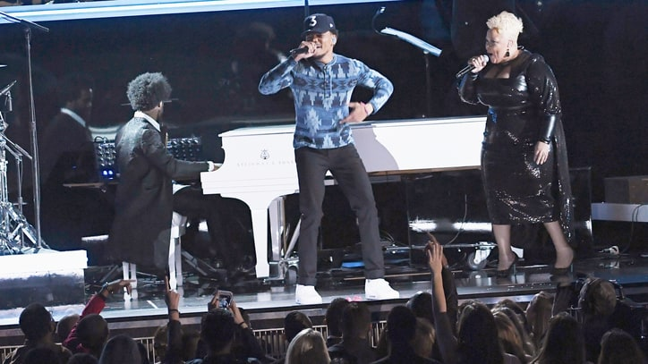 Watch Chance the Rapper's Euphoric Grammy Performance