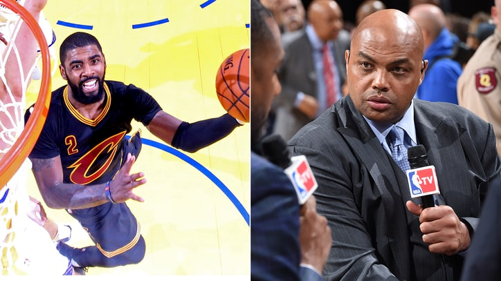 Charles Barkley Doesn't Understand Kyrie Irving's Trade Request: 'It's So Stupid'