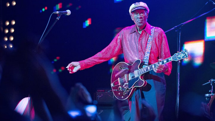 Inside Chuck Berry's First New Album in 38 Years