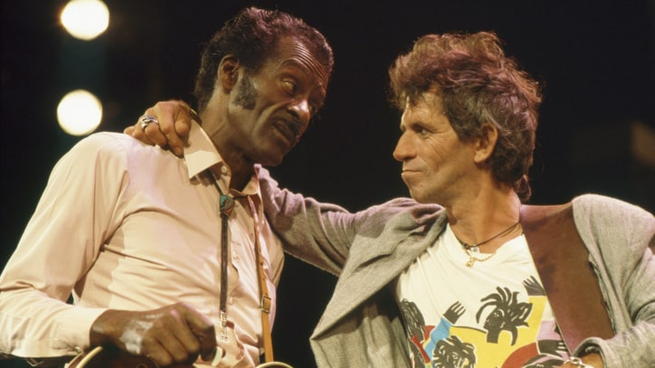 Rolling Stones: Chuck Berry's Music 'Is Engraved Inside Us Forever'